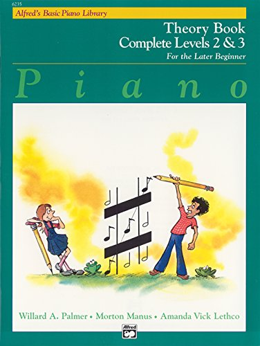 Alfred'S Basic Piano Library Theory Book 2-3