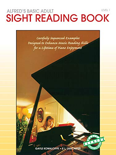 Alfred'S Basic Adult Piano Course Sight Reading 1