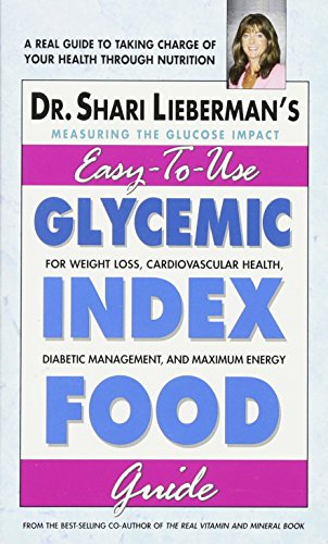 Easy-To-Use Glycemic Index Food Guide
