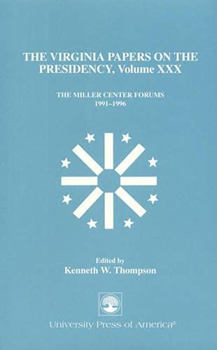 The Virginia Papers on the Presidency