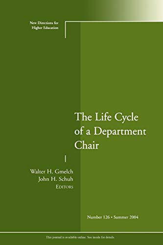 The Life Cycle of a Department Chair