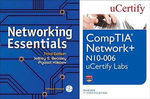 Networking Essentials Textbook and Comptia Network+ N10-006 Ucertify Labs Bundle