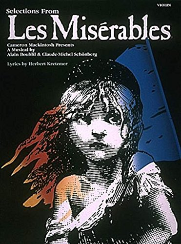 Selections From Les Miserables For Violin