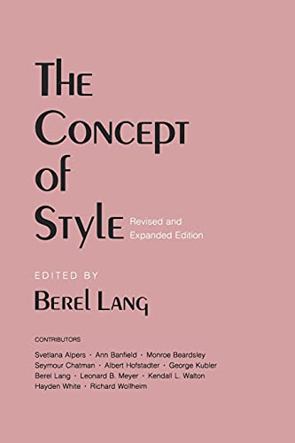 The Concept of Style