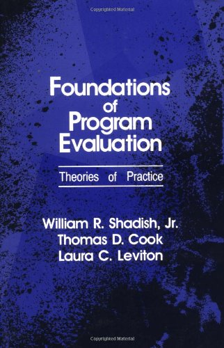Foundations of Program Evaluation