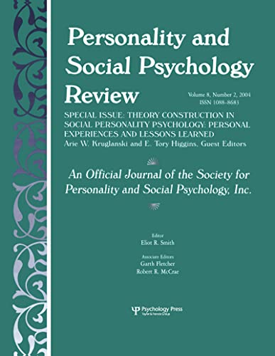 Theory Construction in Social Personality Psychology
