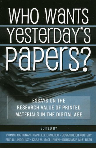 Who Wants Yesterday's Papers?