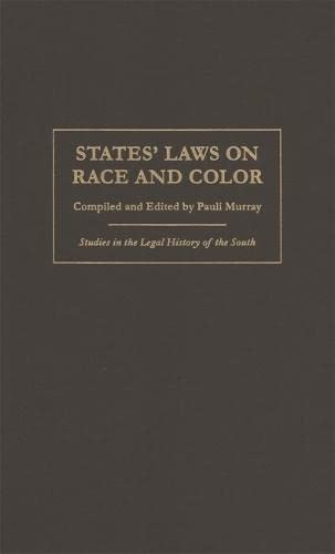 States' Laws on Race and Color