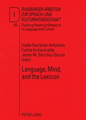 Language, Mind, and the Lexicon