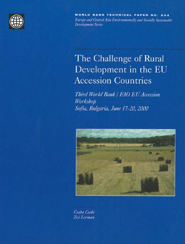 The Challenge of Rural Development in the EU Access Countries
