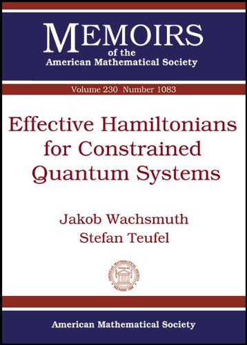 Effective Hamiltonians for Constrained Quantum Systems