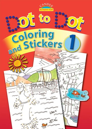 Dot to Dot Coloring and Stickers