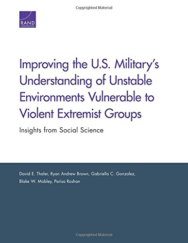 Improving the U.S. Military's Understanding of Unstable Environments Vulnerable to Violent Extremist Groups