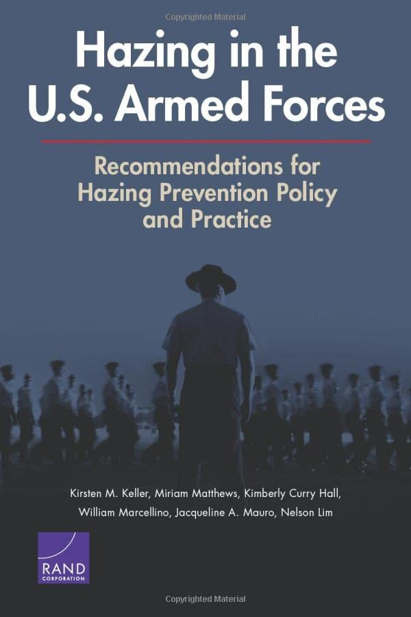 Hazing in the U.S. Armed Forces