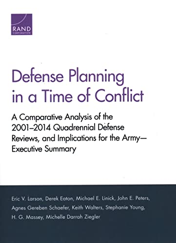 Defense Planning in a Time of Conflict