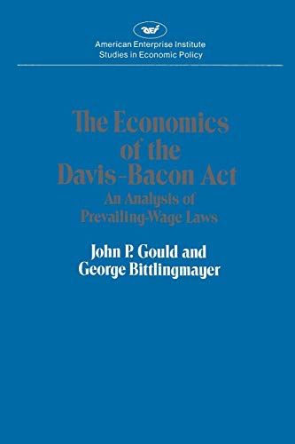 Economics of the Davis-Bacon Act