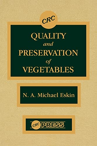 Quality and Preservation of Vegetables