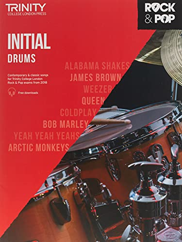 Trinity College London Rock & Pop 2018 Drums Initial Grade