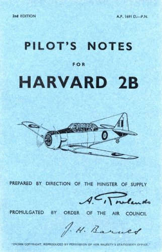 Air Ministry Pilot's Notes: North American Harvard IIB