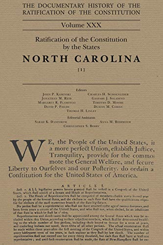 The Documentary History of the Ratification of the Constitution Volume XXX, 30