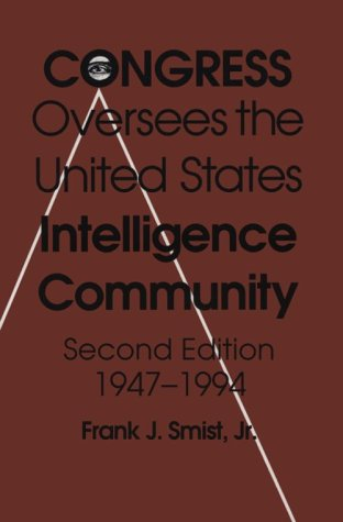 Congress Oversees Us Intelligence 2/E