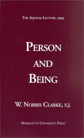 Person and Being