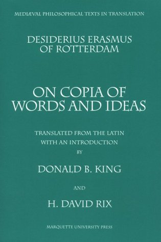 On Copia of Words and Ideas