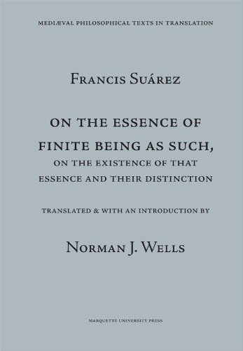 On the Essence of Finite Being as Such, On the Existence of That Essence and Their Distinction