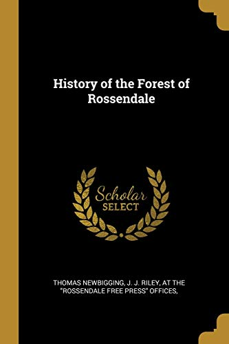 History of the Forest of Rossendale