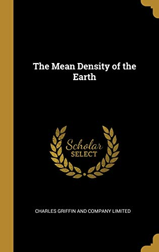 The Mean Density of the Earth