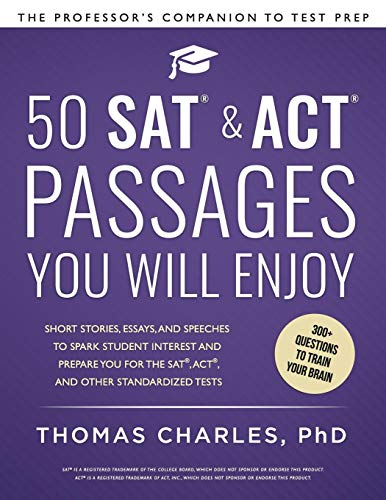 50 SAT & ACT Passages You Will Enjoy