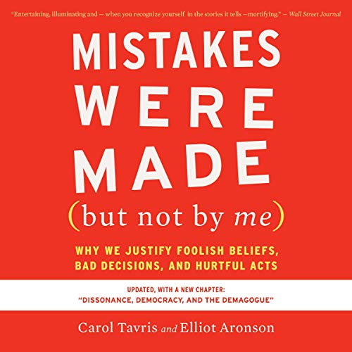 Mistakes Were Made (But Not by Me) Third Edition Lib/E