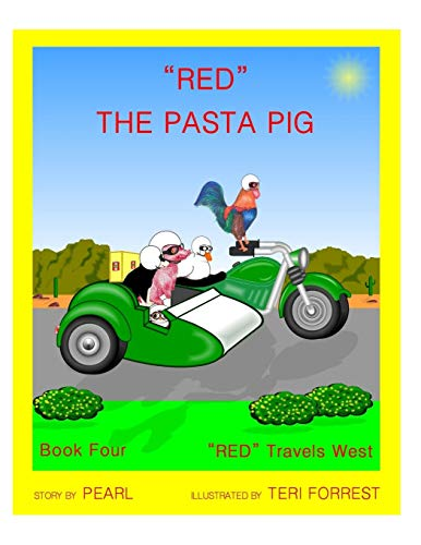 Red the Pasta Pig