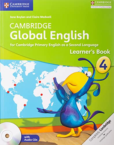 Cambridge Global English Stage 4 Learner's Book with Audio CD: for Cambridge Primary English as a Second Language