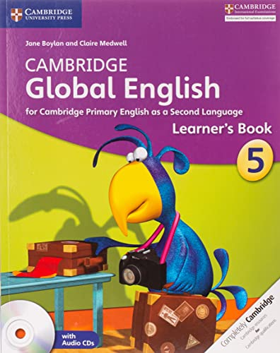 Cambridge Global English Stage 5 Learner's Book with Audio CD: for Cambridge Primary English as a Second Language