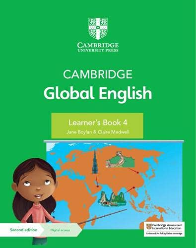 Cambridge Global English Learner's Book 4 with Digital Access (1 Year)