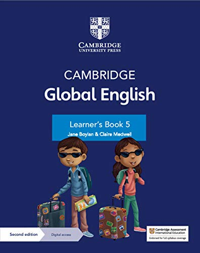 Cambridge Global English Learner's Book 5 with Digital Access (1 Year)