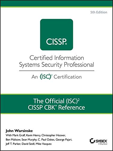 The Official (ISC)2 Guide to the CISSP CBK Reference