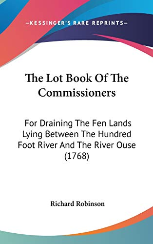 The Lot Book Of The Commissioners