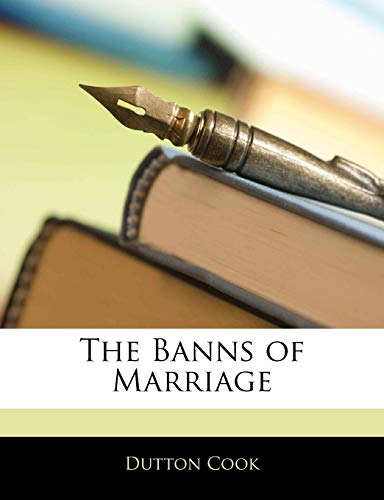 The Banns of Marriage