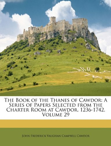 The Book of the Thanes of Cawdor