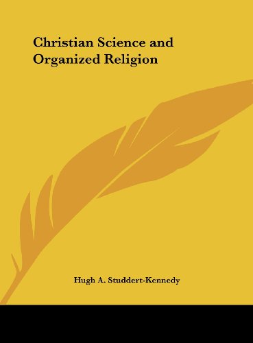 Christian Science and Organized Religion