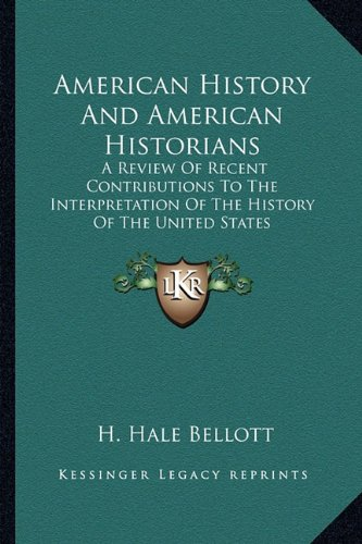 American History and American Historians