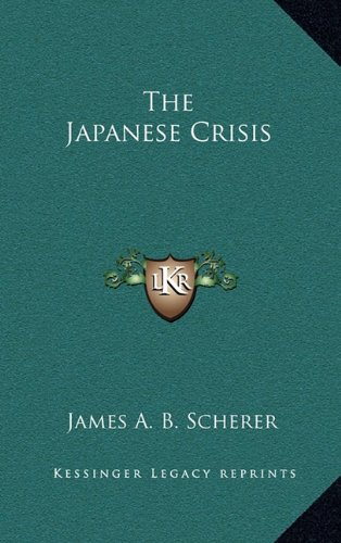 The Japanese Crisis