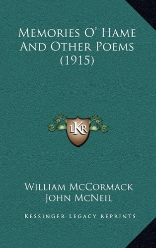 Memories O' Hame And Other Poems (1915)