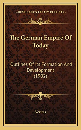 The German Empire Of Today