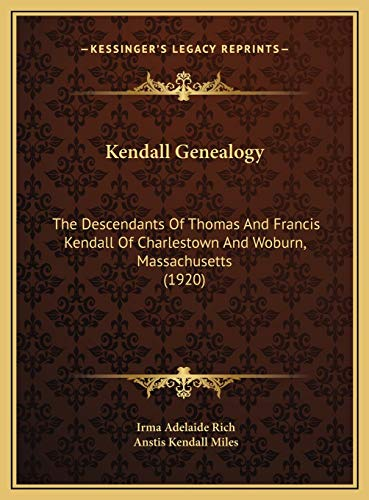 Kendall Genealogy