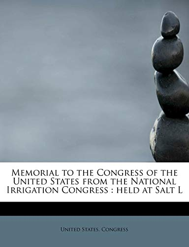 Memorial to the Congress of the United States from the National Irrigation Congress
