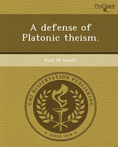 A Defense of Platonic Theism