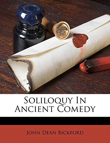 Soliloquy in Ancient Comedy